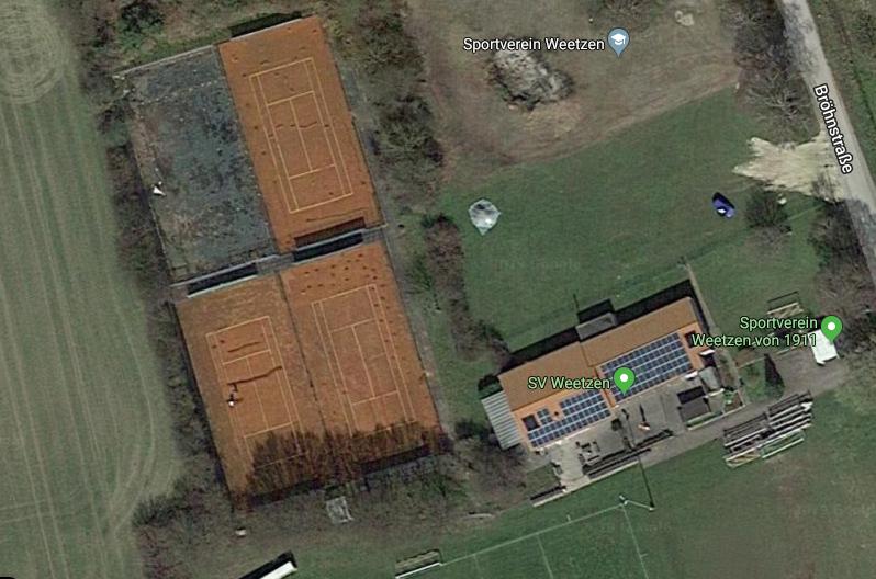 Sportplatz und Tennisanlage SV Weetzen